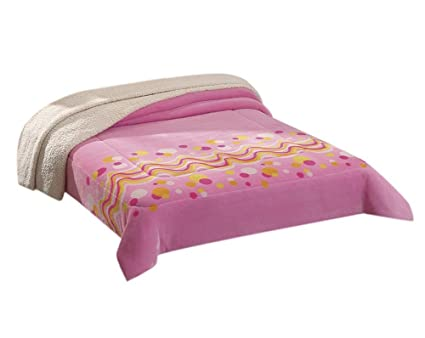 Colchas Concord CBOJ0144 Cobertor Borrega Confeti Queen 1a7f150a6ebda