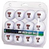 LinksWalker NCAA Texas Tech Red Raiders - Dozen Golf Balls