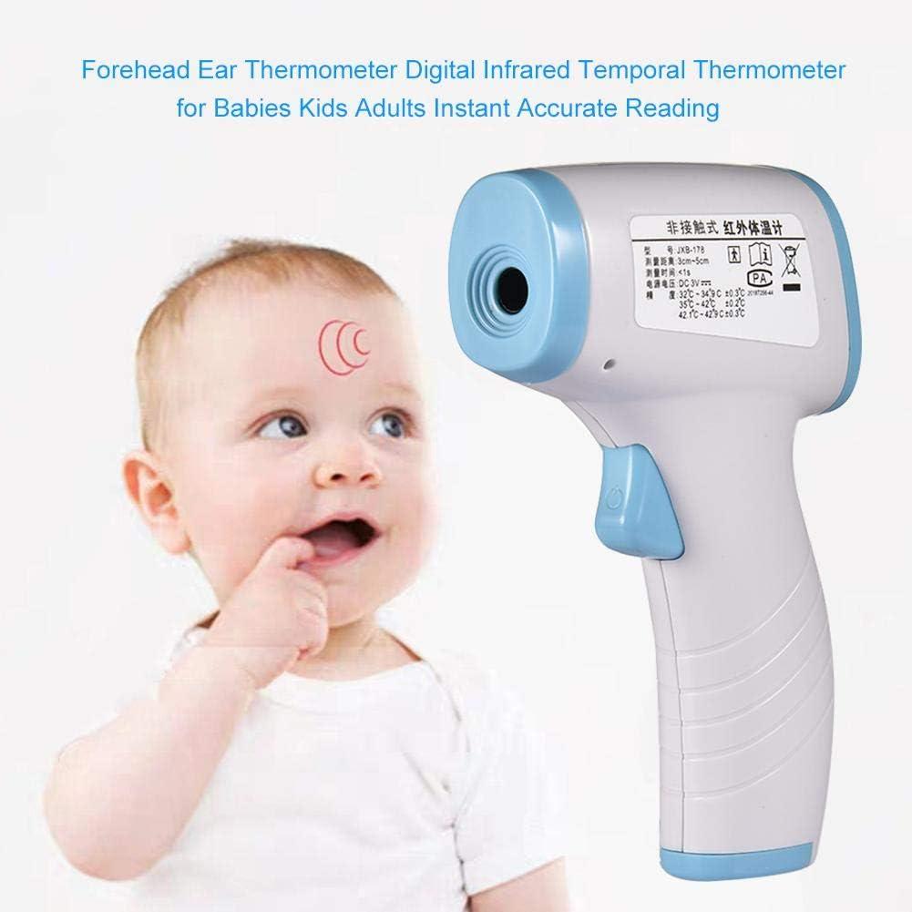 globalqi Digital Thermometer Ber/ührungslose Body Ohr Und Stirn Pr/äzision Infrarot IR Thermometer Erwachsene Und Die Oberfl/äche 3-in-1-Digitales Medizinisches Infrarot-Thermometer F/ür Babys