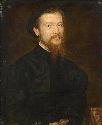 Oil Painting 'Corneille De Lyon - Portrait Of A Man (1),1534-74' 8 x 10 inch / 20 x 25 cm , on High Definition HD canvas prints is for Gifts And Garage, Hallway And Home Theater Decoration (Kiddie Blue Rocker Set)
