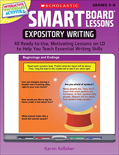 SMART Board Lessons: Expository Writing: 40 Ready-to-Use, Motivating Lessons on CD to Help You Teach Essential Writing S