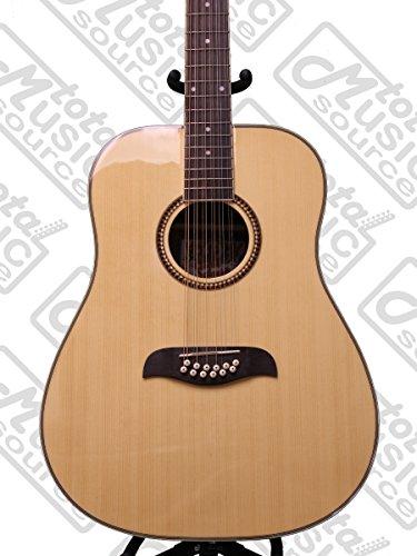 Oscar Schmidt OD312 12-String Dreadnought Acoustic Guitar - Natural