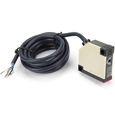 Lichtschranke Spiegelreflexionslichtschranke AC 90-250V 3A E3JK-R4M1 Sensorschalter
