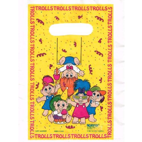 Troll Dolls Vintage Favor Bags (8ct)