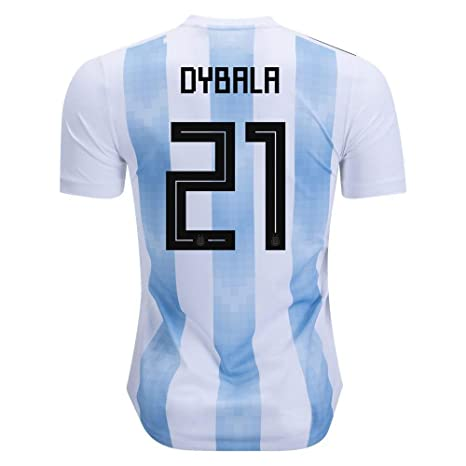 super popular 39862 3a543 Amazon.com : AdriK RussiaJRS #21 Dybala 2018 Russia World ...
