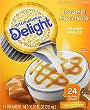 International Delight, Caramel Macchiato, 24-Count Creamer Singles (Pack of 3)