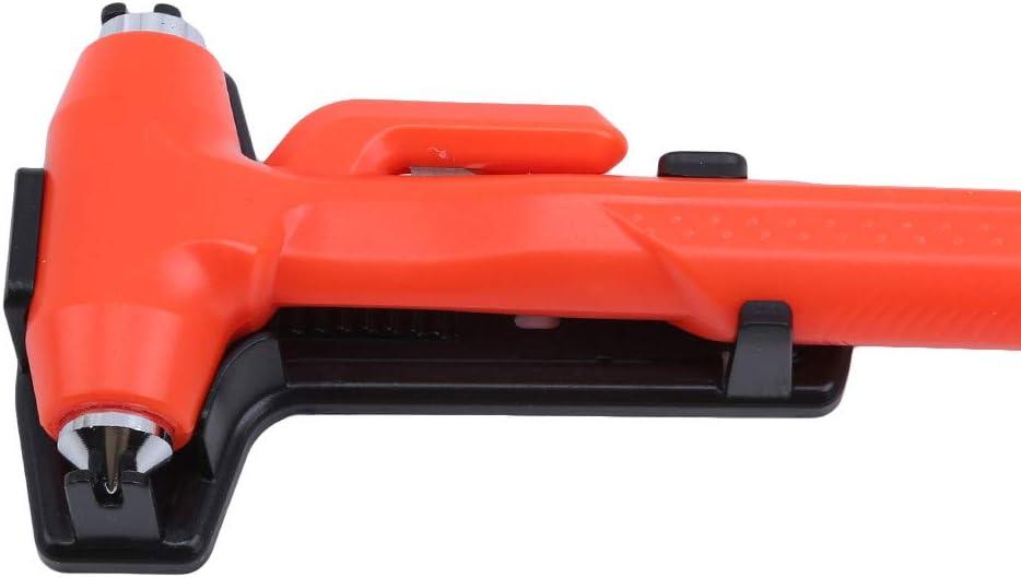 Rot JOOFFF Nothammer Fluchtwerkzeug Auto Auto Sicherheitsh/ämmer Multifunktionale Tragbare Mini Window Break H/ämmer