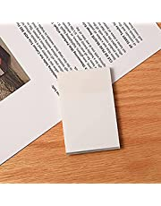 Transparent Sticky Notes,Waterproof Sticky Notes,Transparent Memo Paper,Memo Papers Message Reminder,for School Home Office,3 Sizes