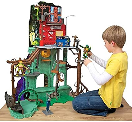 Amazon.com: Turtles Secret Sewer Lair Playset: Toys & Games
