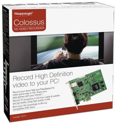 Hauppauge Colossus Interner PCIe HD Festplattenrekorder Festplattenrekorder mit High Definition, H.264 Video-Kodieren und HDMI