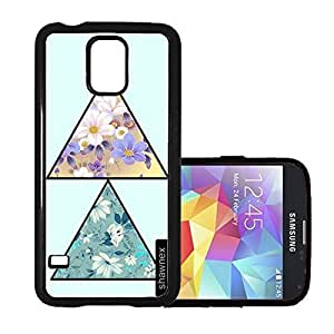 Traingle Flower Pattern Thinshell Case Protective S5 Case