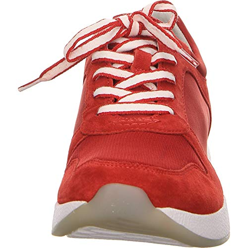 traspirante basso 26 Gabor Red sneaker Stringata Donna 946 scarpa U0nxdSPn