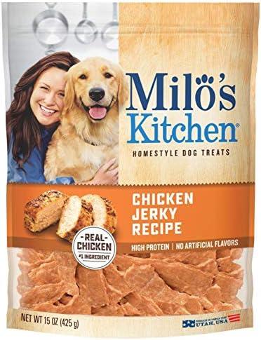 Milo's Kitchen Chicken Jerky Strips Dog Treat