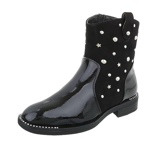 Zapatos para mujer Botas Tacón ancho Botas Western Negro Tamaño 37: Amazon.es: Zapatos y complementos