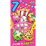 Shopkins age 7 today 7th birthday card
