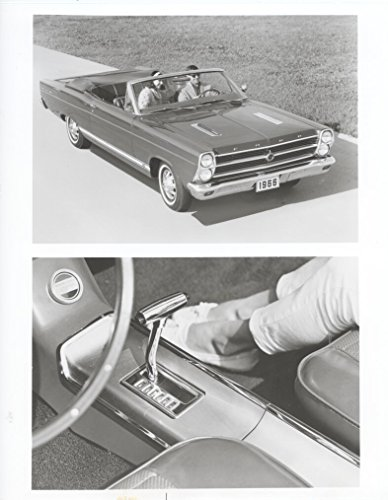 1966 Ford Fairlane GT Convertible & Sportshift ORIGINAL Factory (1966 Fairlane Convertible)