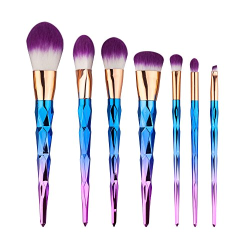 Makeup Brushes, Angelabasics 7PCS/Set Make Up Brushes Foundation Eyshadow Blusher Powder Blending Cosmetic Brush Makeup Brush Set
