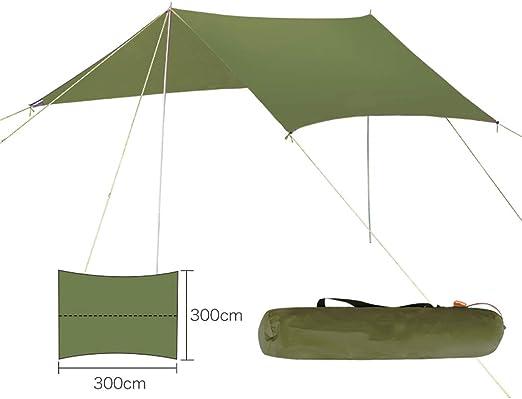 outdoor tent Cuenta de Playa, toldo de Sombra, toldo de Gran tamaño, pérgola para Exteriores - Carpa para Lluvia Ultra Ligera con protección Solar: Amazon.es: Hogar