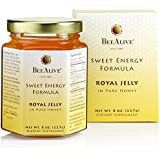 BeeAlive Sweet Energy Formula Royal Jelly in Pure Honey, 8 oz