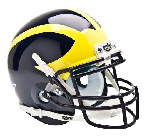 NCAA Michigan Collectible Mini Football Helmet