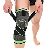 Morpho Diana Knee Sleeve, Compression Fit Support -for Joint Pain and Arthritis Relief, Improved Circulation Compression - Wear Anywhere - Single