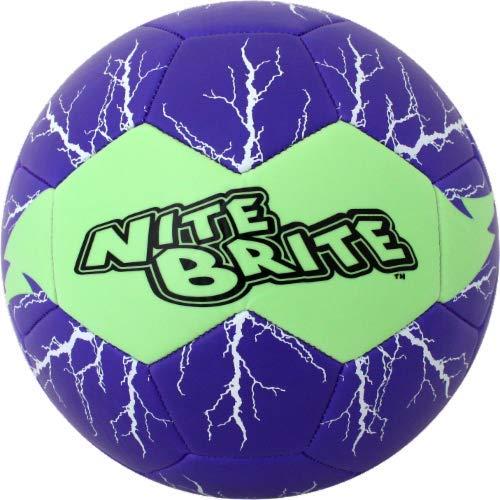 Baden Nite Brite Soccer - Balón de fútbol, Color Morado: Amazon.es ...