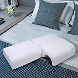 HOMCA Memory Foam Pillow for Couples - Adjustable