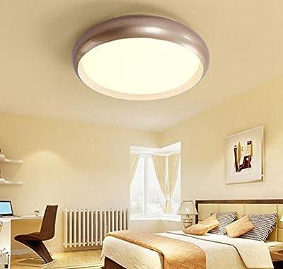 Jingzou Round Ceiling Light Simple Modern Balcony Study Bedroom Lighting LED Atmosphere Living Room Restaurant 46CM 24W