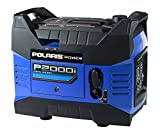 2000 Watt Portable Generator - Polaris P13GDGBNA Power P2000i Portable Gas Powered Digital Inverter Generator, 2000-watt