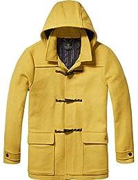 Scotch & Soda Men's Duffle Wool Coat, Jagger, Large