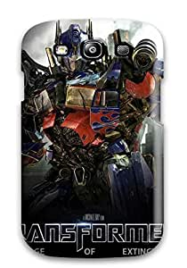 Slim Fit Tpu Protector Shock Absorbent Bumper Transformers Age Of Extinction Case For Galaxy S3 4457289K29763534