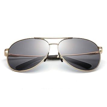Gafas de Sol de Aviador polarizadas con Montura metálica de ...