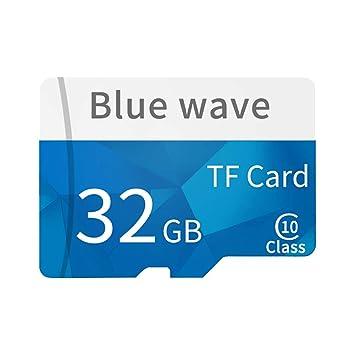 Daliuing Tarjeta Micro SD de 32 GB 10 Clase 90MB / s Tarjeta de Memoria SchSD MicroSD con Adaptador SD, para Tarjeta de Memoria de Video HD