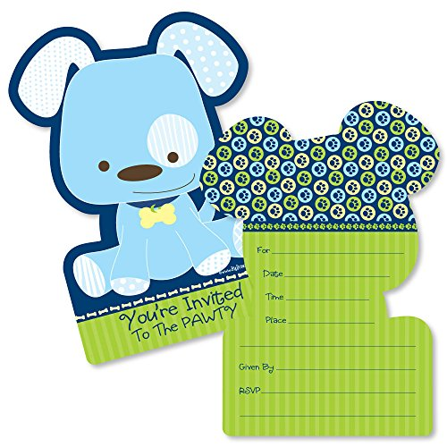 ed Fill-In Invitations - Baby Shower or Birthday Party Invitation Cards with Envelopes - Set of 12 ()