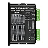 STEPPERONLINE CNC Stepper Motor Driver 1.0-4.2A 20-50VDC 1/128 Micro-step Resolutions for Nema 17, 23, 24 and 34 Stepper Motor