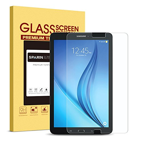 Galaxy-Tab-E-96-Screen-Protector-Tempered-Glass-SPARIN-Ultra-Clear-High-Definition-Tempered-Glass-Screen-Protector-for-Samsung-Galaxy-Tab-E-96-Inch-2015-Version