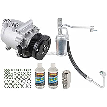 AC Compressor w/A/C Repair Kit For Ford Expedition 2004 2005 2006 - BuyAutoParts 60-81353RK New