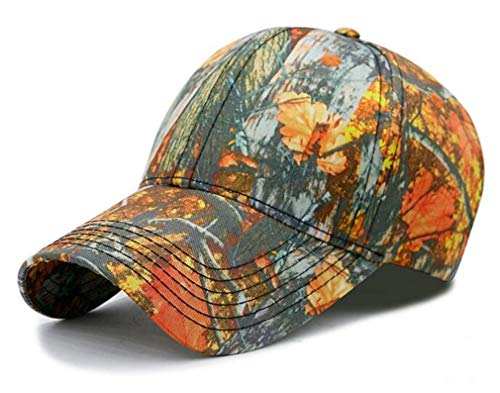 GTSDYFV Unisex Baseball Caps Camouflage HAT Snapback Baseball Cap Adjustable Cotton Casual 10 Colors Men's Hats Camouflage 04 ()