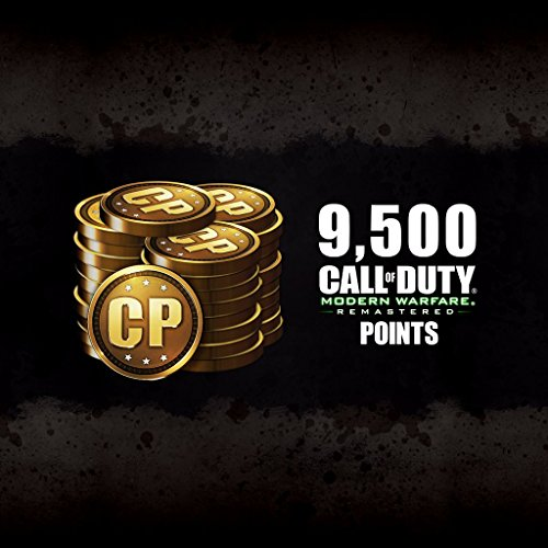 9,500 CoD Modern Warfare Remastered Points - PS4 [Digital Code] by Activision