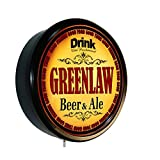 GREENLAW Beer and Ale Cerveza Lighted Wall Sign