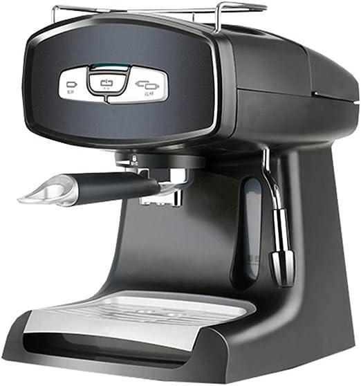 MXZBHDBomba Tradicional máquina de café Espresso Bebida Caliente, Capuchino y cafetera 850W1.2 Negro: Amazon.es: Productos para mascotas