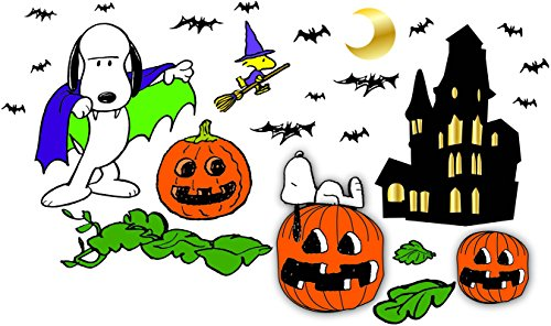 (Eureka Peanuts Back to School Classroom Supplies Halloween Special Bulletin Board Set, 18'' x 28'', 46)