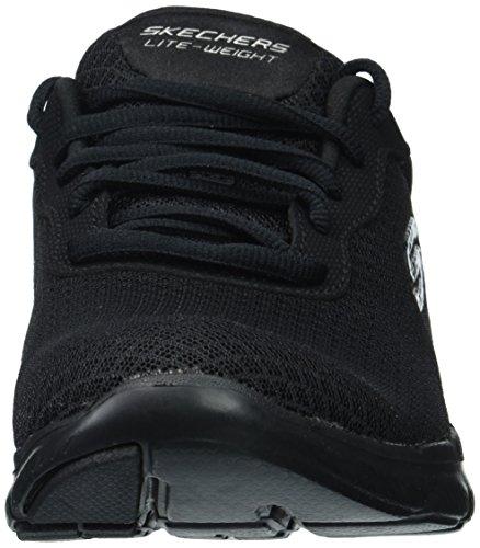 Skechers Donna Flex Appeal2.0-sneaker Newsmaker Nero
