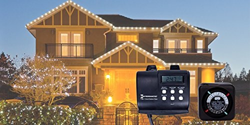 Intermatic HB880R 15-Amp Outdoor Digital Timer for Control of Lights, Decorations, Pumps or Fans with Astronomic Self Adjust by Intermatic (Image #2)