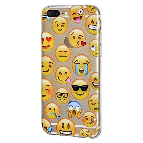 """Amzer Coque en gel souple transparent """"Emotions mixte coussin en TPU pour Apple iPhone 7Plus"""