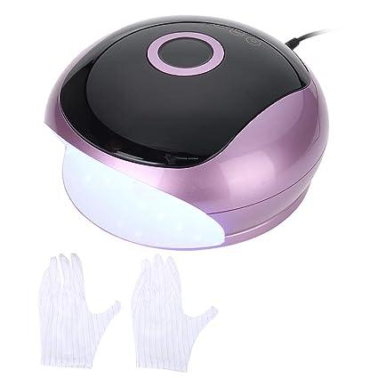 48W Secador de Uñas, Lámpara de Uñas LED UV con 33 Luz y Sensor Automático