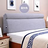 Continental bed soft bag Back cushion Large back cushion on bed Cushion Tatami fabric bed cushion-D 190x60cm(75x24inch)