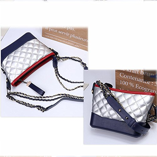 multifunction oblique Silver bags shoulder phone Single women mobile cross Axiba bag ZIqHYUOwO