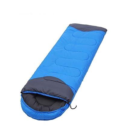Saco de Dormir de sobre Tipo 3-4 Estaciones Cuello con cordón Adecuado para el