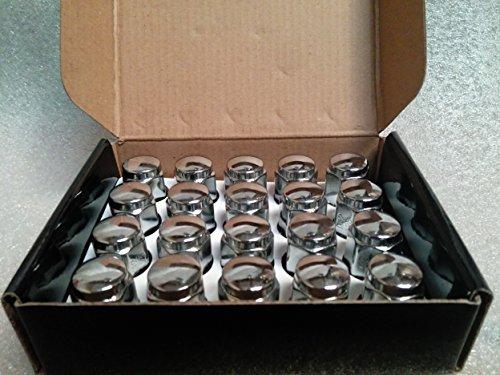 AccuWheel LNA-12150C5 Chrome Bulge Acorn Wheel Lug Nuts (12mm x 1.5 Thread Size) 1.4